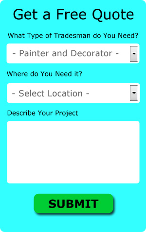 Free Manchester Painter and Decorator Quotes